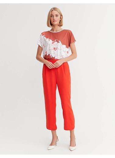 BGN Düz Paça Pantolon Kırmızı